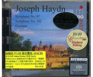 海顿第97及102号交响曲 Adam Fischer SACD  MDG9011452-6