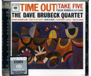 爵士经典 CK65122 THE DAVE BRUBECK QUARTET Time Out 88875098552