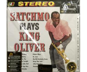 Louis Armstrong Satchmo Plays King Oliver APJ5930