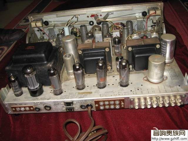 一台收藏级bell(金钟)el84立体声推挽古董胆机(已出)