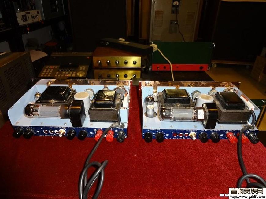 YE EL34单端 古董胆机 收音 已出图片