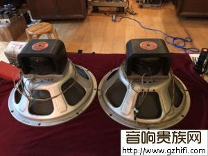 一对JENSEN(战神)15寸励磁低音F15LL