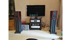 艺雅CD+麦丽迪前级+PASS350.5+丹拿焦点140书架