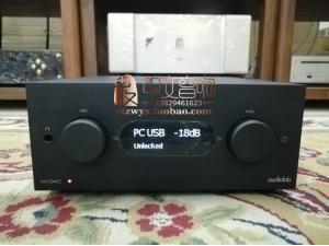 英国 Audiolab/傲立 M-DAC+ 兼前级耳机放大DSD 解码器