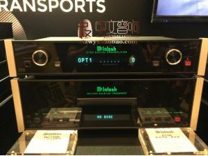 美国 McIntosh/麦景图 MCT450数码播放器SACD转盘+D150数码前级